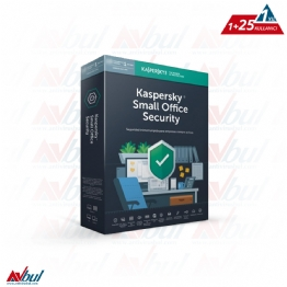 Kaspersky Small Office Security 25 Kullanıcı 1 Server 1 Yıl