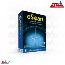 eScan Corporate Edition 10 Kullanıcı 1 Server 1 Yıl